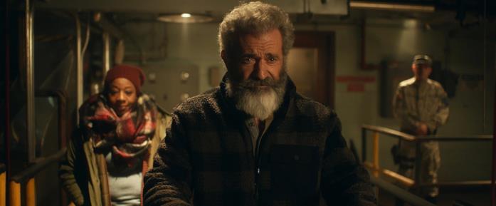 Mel Gibson in una immagine di Fatman