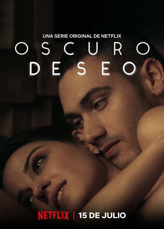 Alma e Darío nel poster di Oscuro Desiderio