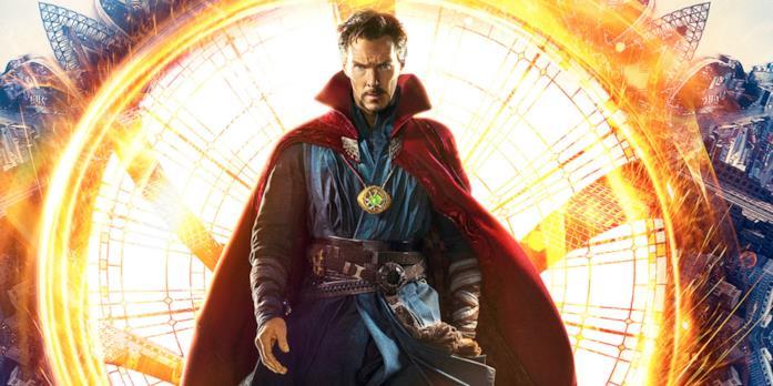 Doctor Strange nel poster del film Marvel Studios