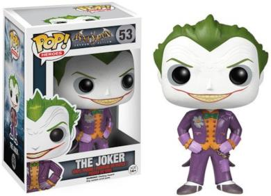 Funko Pop Heroes - Figurina Joker Arkham Asylum 10Cm