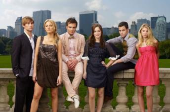 Il cast della prima stagione di Gossip Girl