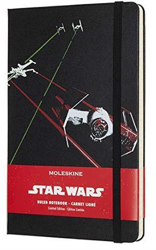 Moleskine Taccuino Star Wars in Edizione Limitata, Notebook a Righe con Grafica e Dettagli a Tema Astronave