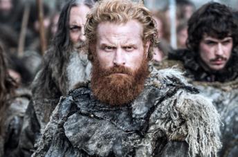 Kristofer Hivju nei panni di Tormund in Game of Thrones