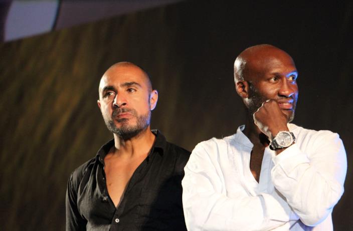 Gli attori Souleymane M'Baye e Ali Alibidi a Locarno 70