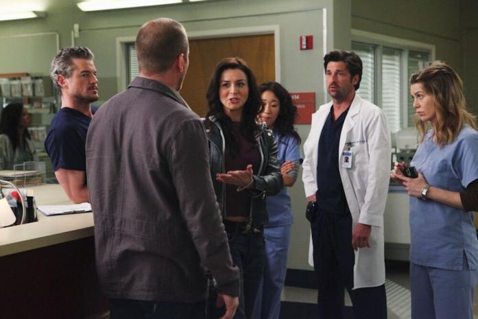 Amelia e Derek si ritrovano in occasione del crossover tra Grey's Anatomy e Private Practice