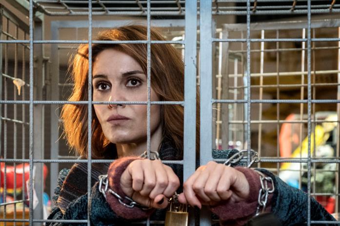 Paola Cortellesi imprigionata