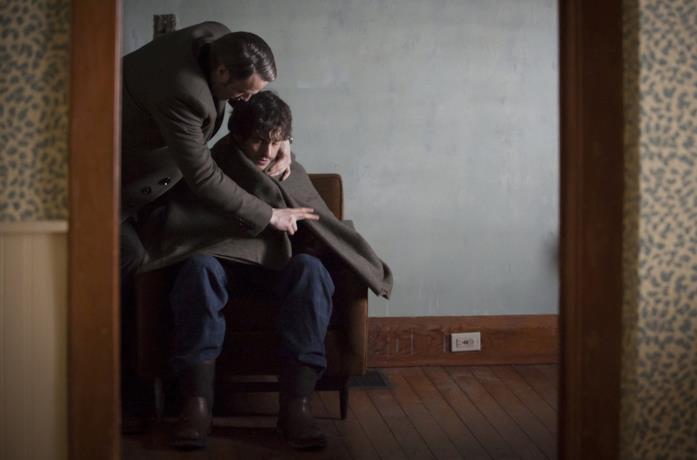 Hannibal abbraccia Will