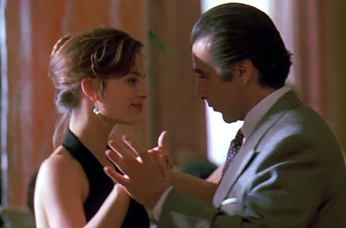 Al Pacino balla il Tango con Gabrielle Anwar in Scent of a Woman – Profumo di donna
