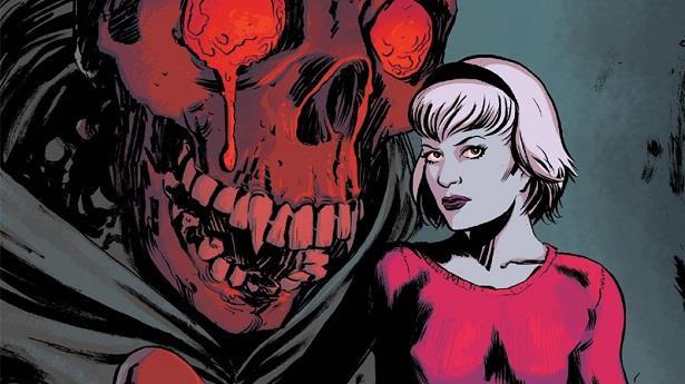 Sabrina Spellman in un'immagine tratta dai fumetti