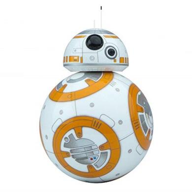 Sphero BB-8 Droide Interattivo Star Wars, Luci LED Incluse, Portata Bluetooth Fino a 30 Metri, Compatibile iOS, Android e Windows Phone