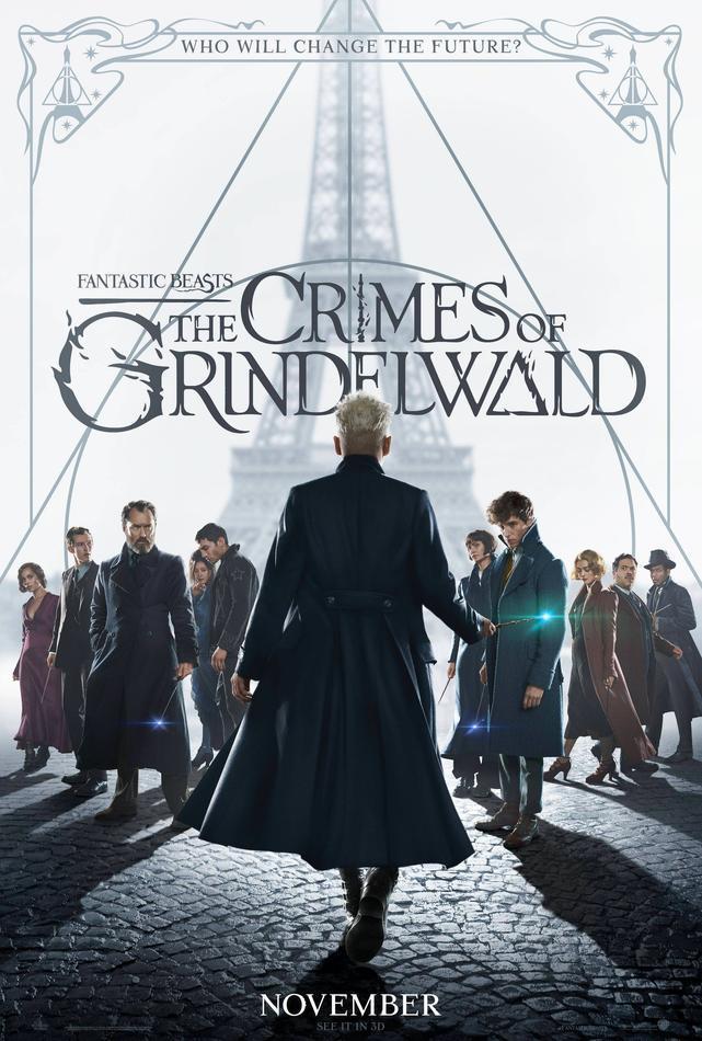 Animali Fantastici: i Crimini di Grindelwald, la locandina
