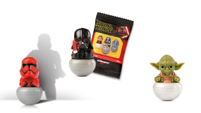 Rollinz di Star Wars 3.0: Yoda gommoso e alcuni esempi
