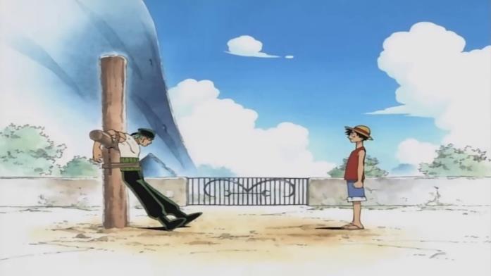 One Piece Rufy e Zoro