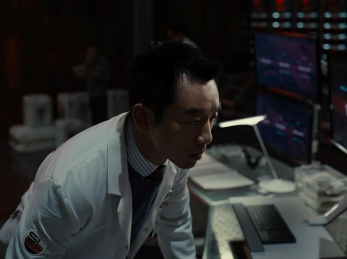 Ryan Choi al lavoro