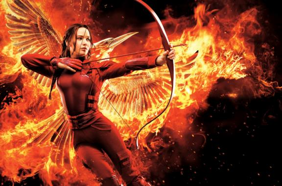 Katniss Everdeen è la protagoista di Hunger Games