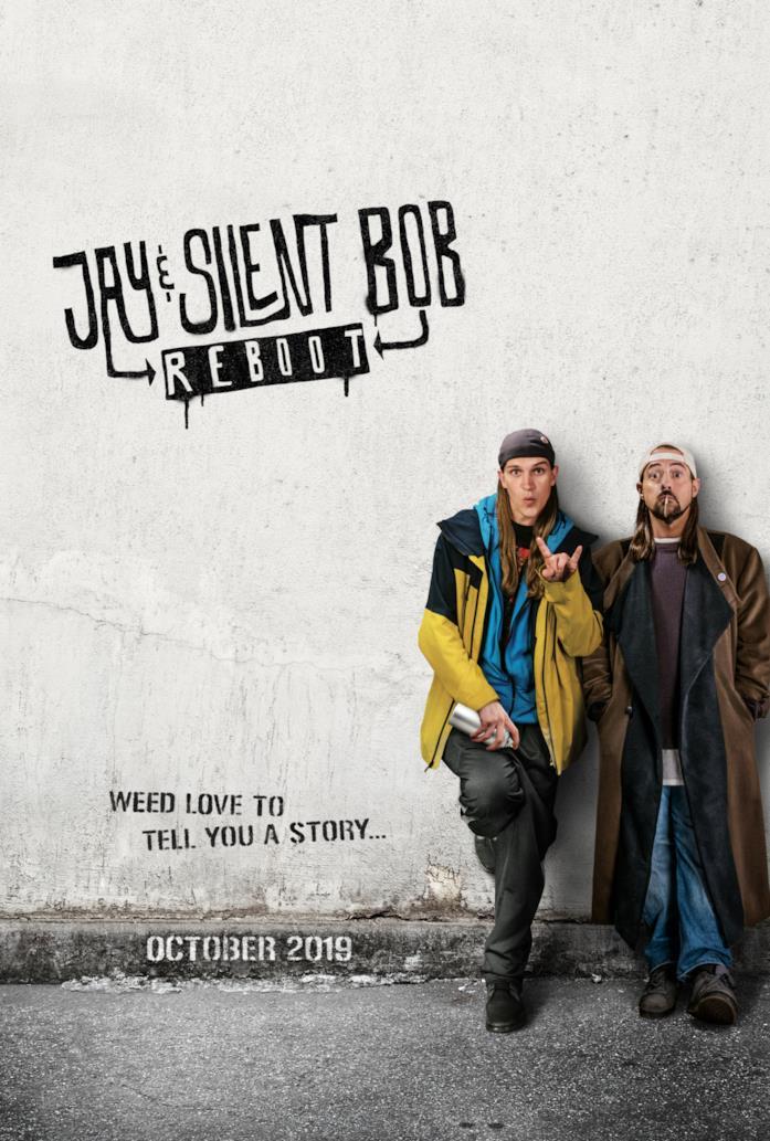 La locandina ufficiale di Jay and Silent Bob Reboot