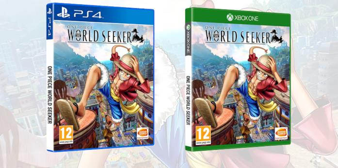 La boxart definitiva di One Piece World Seeker