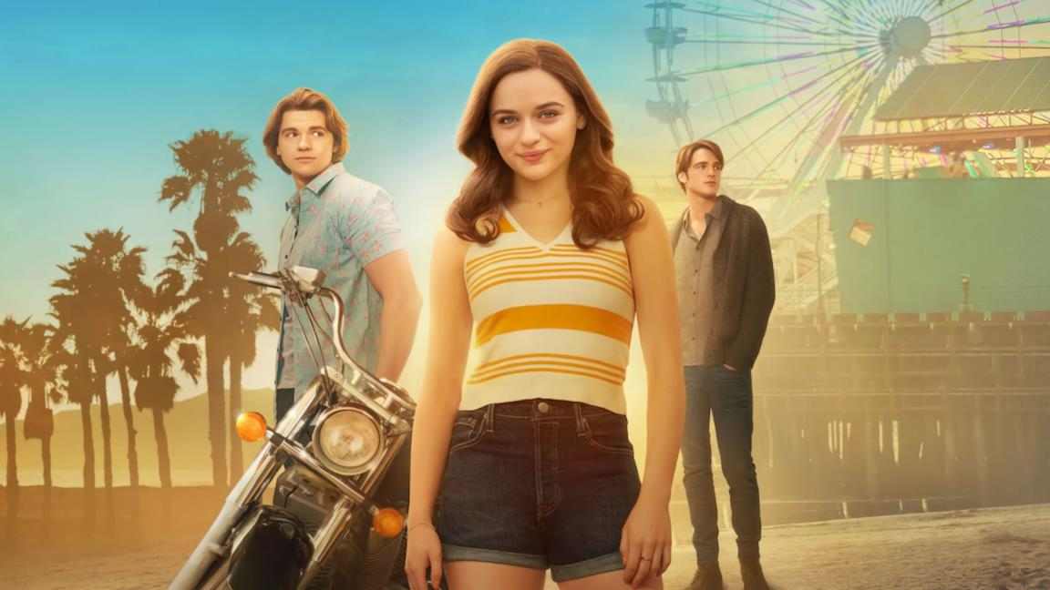 Joey King, Joel Courtney e Jacob Elordi nel poster di The Kissing Booth 2