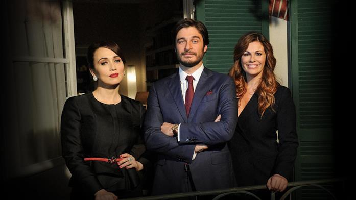 Chiara Francini, Lino Guanciale e Vanessa Incontrada