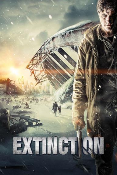 Poster Extinction - Sopravvissuti