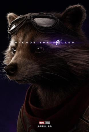 Avenger the fallen, i sopravvissuti: Rocket Raccoon