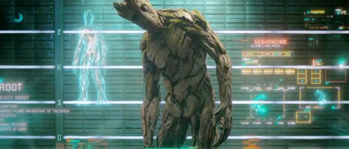 Groot catturato dal Nova Corps in Guardiani della Galassia