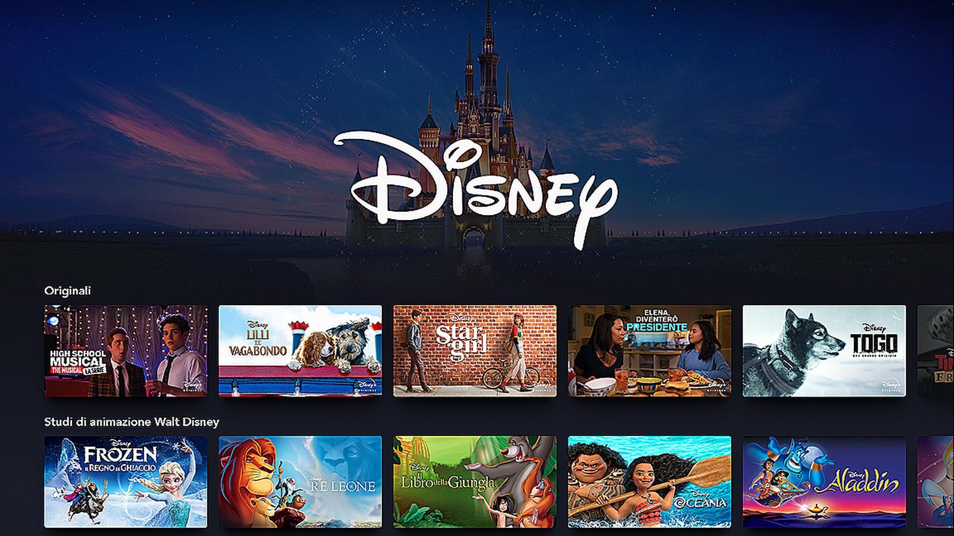 Disney: tutti i film, le serie TV e gli originali in catalogo su Disney+