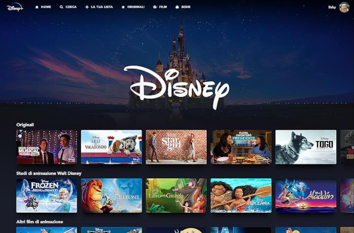 La lista di alcuni film, show e documentari disponibili su Disney+