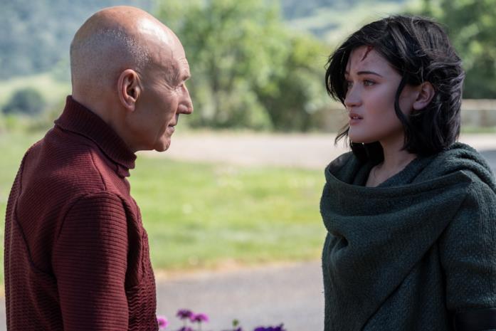 Picard e Dahj si incontrano per la prima volta