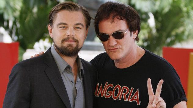 Tarantino e DiCaprio sul red carpet
