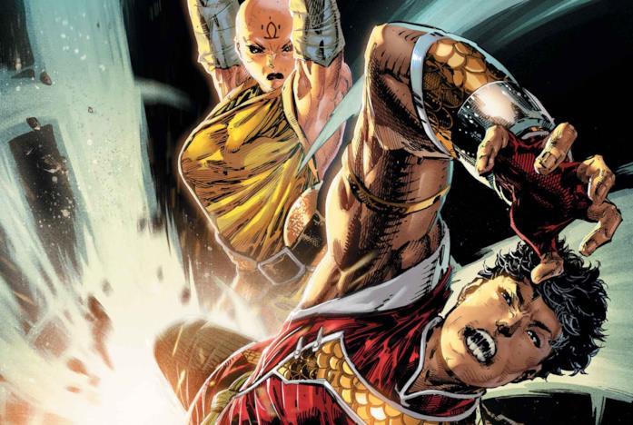 Shang-Chi nella cover a fumetti Marvel