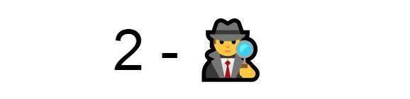 Emoji detective