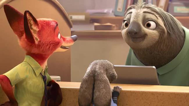 Flash al banco con Judy e Nick