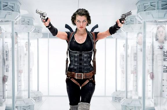 Un'immagine di Milla Jovovich in Resident Evil