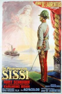 Poster La principessa Sissi