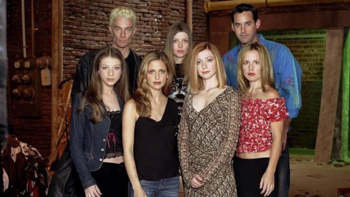 Alcuni degli attori del cast di Buffy