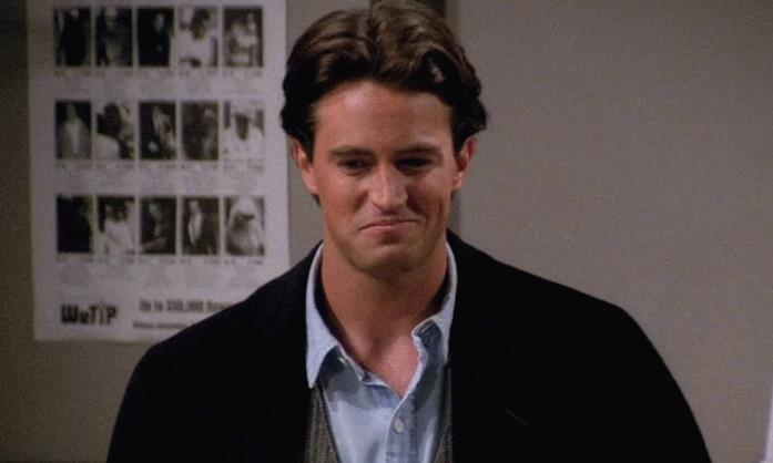 Chandler Bing in una scena di Friends