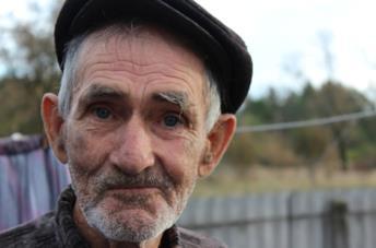 Uno dei personaggi raccontati in Samosely - I residenti illegali di Chernobyl