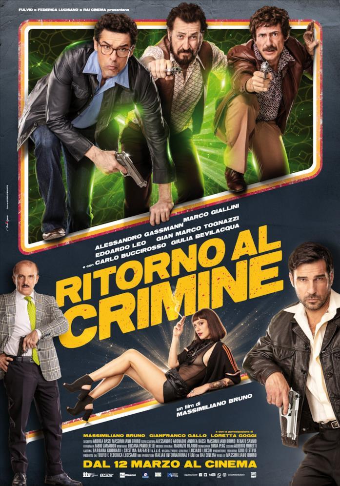 Il poster di Ritorno al crimine