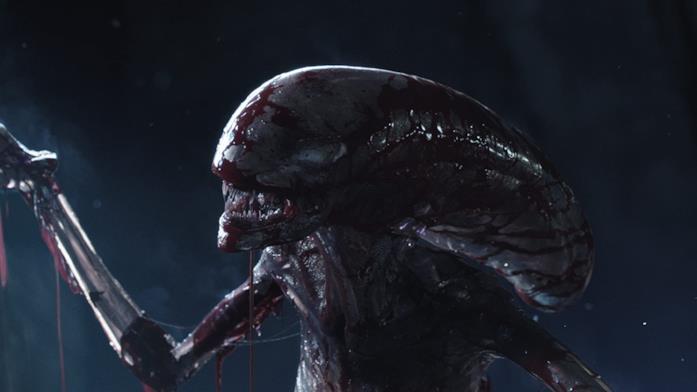Una sequenza tratta da Alien: Covenant