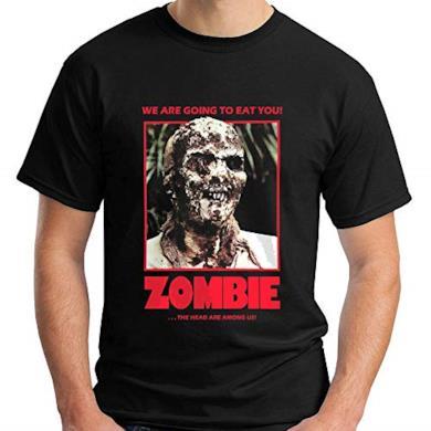 Kenneth Morgan Lucio Fulci'S Zombie Horror Movie Show Black T-Shirt Size S-5XL