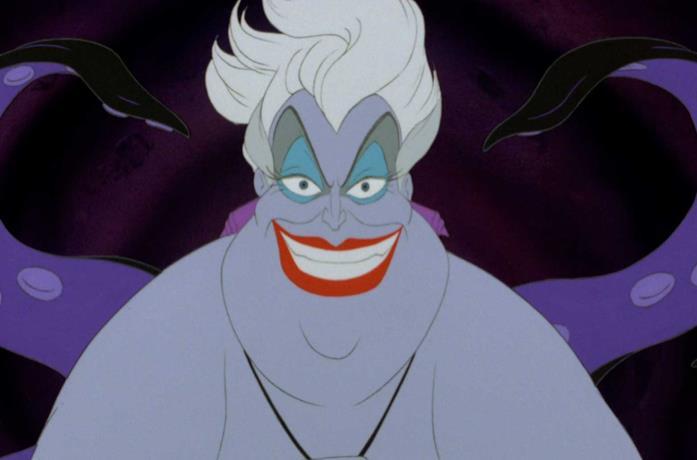 Ursula in primo piano