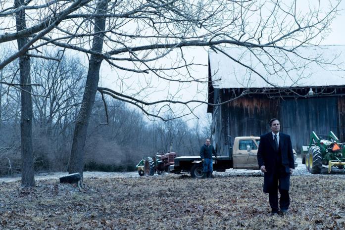Rob Bilott e Wilbur esplorano la fattoria contaminata