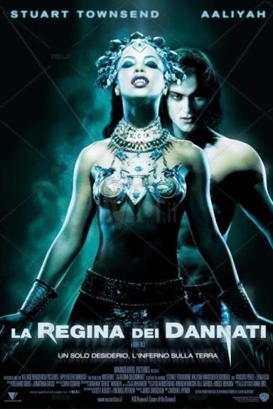 Poster La regina dei dannati