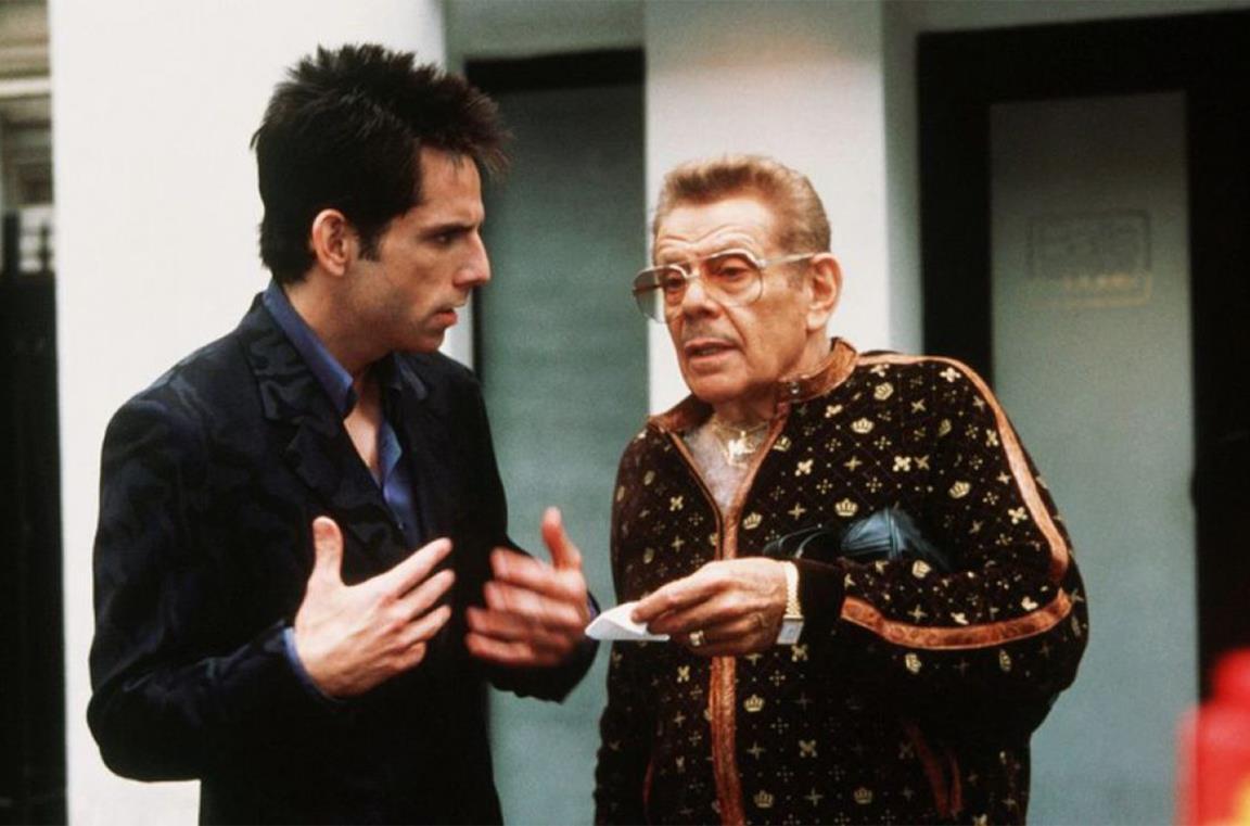 Jerry Stiller e Ben Stiller in Zoolander