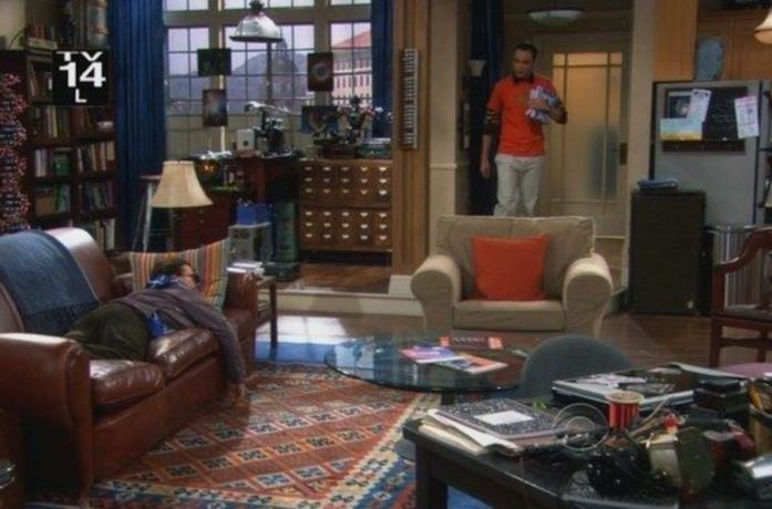 La casa di Leonard e Sheldon in The Big Bang Theory