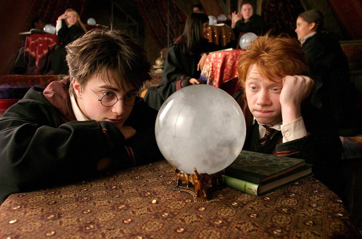 Una scena di Harry Potter