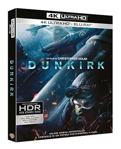 Cofanetto Blu-ray di Dunkirk