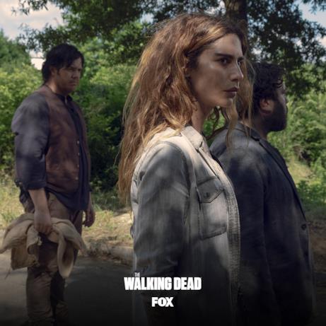 Un'immagine di Magna, new entry di The Walking Dead 9