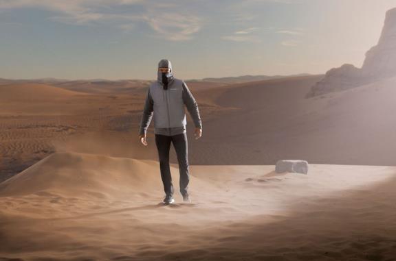 Un'immagine della giacca di The Mandalorian